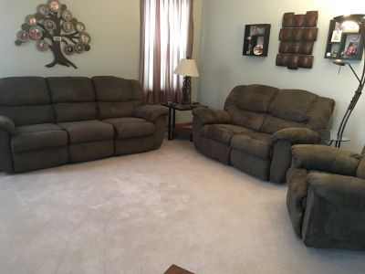 3 Piece Recliner Sofa Set