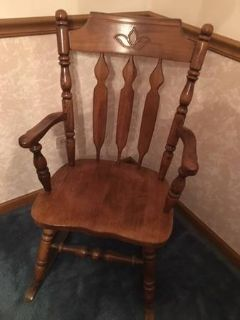 Rocking Chair, Solid Oak