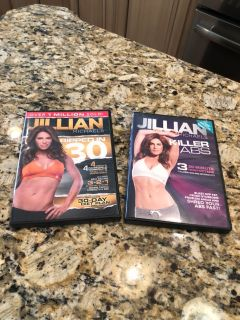 Jillian Michaels DVD s