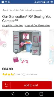 """Our Generation"" RV (American Girl size)"