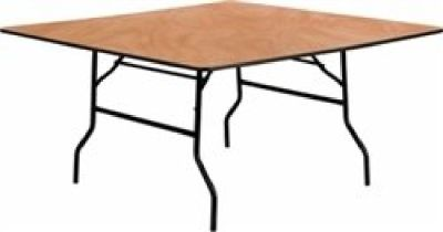 Square Plywood Table - Chiavari Chairs Larry