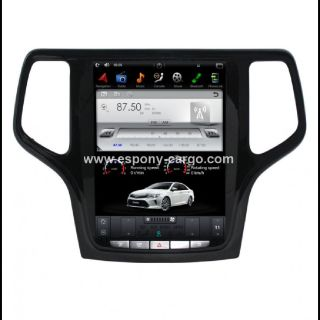 10.4''Tesla Style Screen Car GPS Navigation For JEEP GRAND CHEROKEE