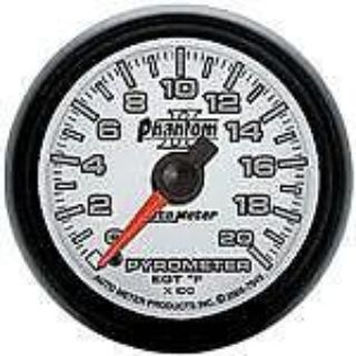 "Sell Autometer Phantom II Series-Pyro 2-1/16"" full sweep electrical 0 -2000 F 7545 motorcycle in Winchester, KY, US, for US $179.55"