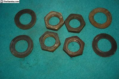 Steering Wheel Nut & Washer
