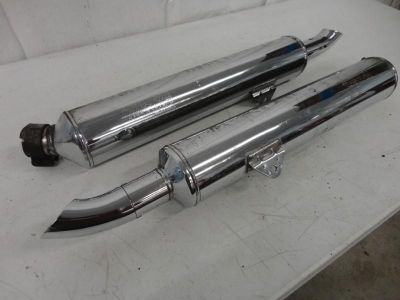 Sell 1988-2000 Honda GoldWing GL1500 Aspencade Chrome Exhaust Mufflers 3167 motorcycle in Kittanning, Pennsylvania, US, for US $9.99