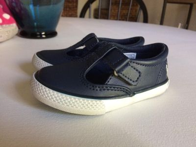 Toddler girl size 5 Polo shoes