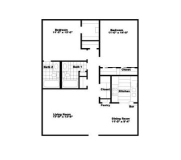 $556, Master br in 2br apartment $556