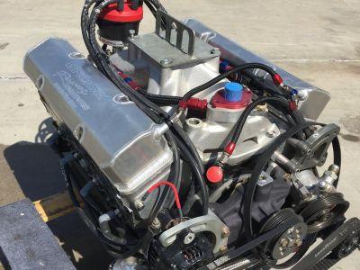 (2) 9:1 allpro head racing engines