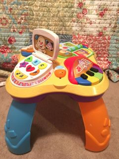 Fisher-Price learning table