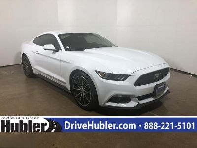 2015 Ford Mustang 2dr Fastback EcoBoost (Oxford White)