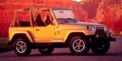 1999 Jeep Wrangler Sahara (Blue)