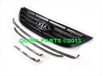 Sell 2007-2009 Kia Spectra Front Radiator Grille Assembly OEM NEW 86350-2F500 motorcycle in Braintree, Massachusetts, United States, for US $120.00