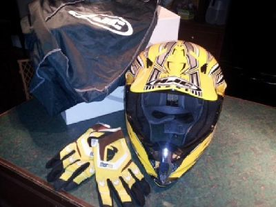 $90 OBO HJC MC-X5 Dirt Bike Helmet