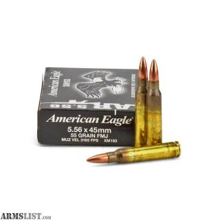 For Sale/Trade: AMERICAN EAGLE XM193 55GR 420 cans