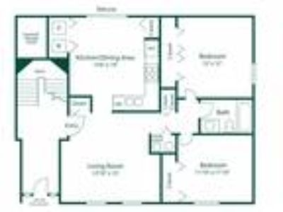 Maple Lane Apartments - Style C Exec suite -Two BR, One BA 2nd FL