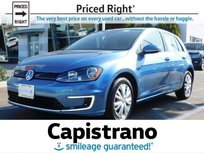 2015 Volkswagen e-Golf Limited Edition (Pacific Blue)