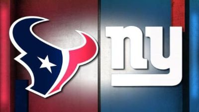 "(4) TEXANS vs NY Giants ""Home Opener"" Tickets - 3rd Row/Aisle Seats - Sun, Sept 23!"