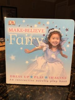 Make - Believe Fairy Hard Pages POP Up Book. Nice Condition. Retails for $6.99