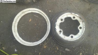 Smoothie rims ready to be widened pair 15 inch