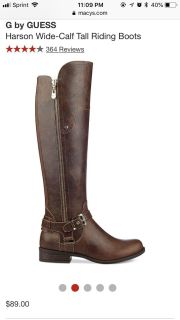 BNWT G by Guess riding boots