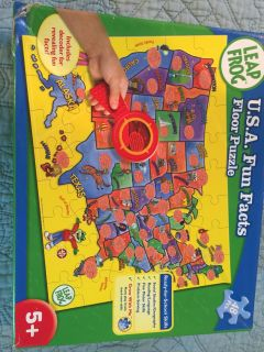 Leap Frog USA floor map