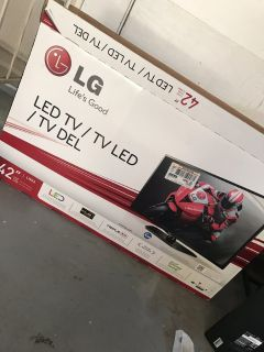 42in LG LED TV
