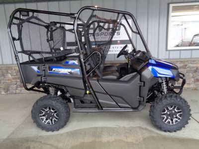 2019 Honda Pioneer 700-4 Deluxe Side x Side Utility Vehicles Delano, MN