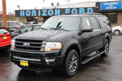 2017 Ford Expedition EL Limited (BLACK)