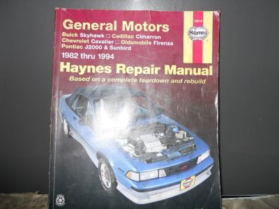 Limited HAYNES general motors REPAIR manual BOOK auto vehicle chevy