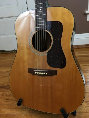 1985 GUILD D-35 NT USA Made Acoustic Guitar