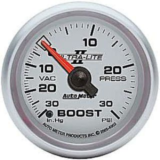 Find AutoMeter 4903 Ultra-Lite II Mech Boost Gauge 30/30 PSI motorcycle in Suitland, Maryland, United States, for US $96.90