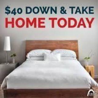 $40 Down MATTRESS Liquidation *Queen sets start at $150