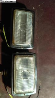Early Marchal fog lights