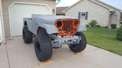 1972 Jeep CJ5 Restoration Project