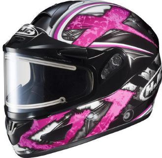 Buy HJC CL-16 Shock Pink 2XL Electric Snowmobile Full Snow Sled Helmet XX-Large motorcycle in Ashton, Illinois, US, for US $224.09