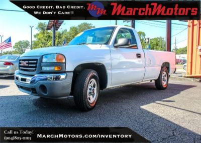 2004 GMC Sierra 1500 Work Truck (WHITE)