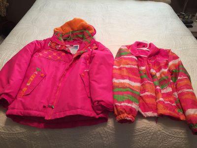 Girl s Big Chill hooded Coat & marching Jacket size 10/12 pick up Hernando