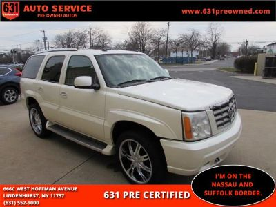 2005 Cadillac Escalade Base (White Diamond)