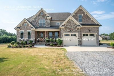 Beautiful custom home with very private setting!