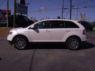 2010 Ford Edge Limited (White)