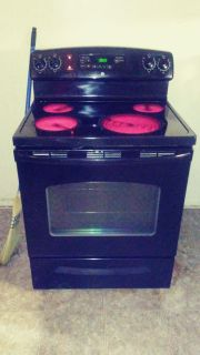 """30"""" Smooth Glass Top Stove by GE"""