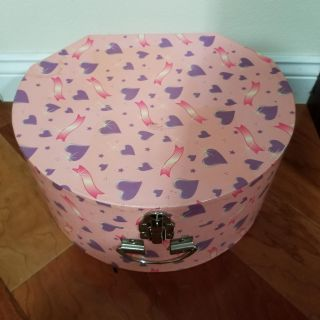 Large hat box. See soda can for size ref