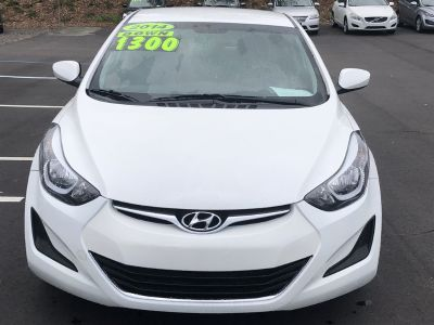 2014 Hyundai Elantra Limited (White)