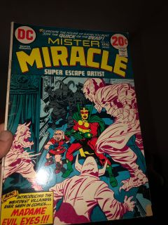 Mister miracle comics 1-19