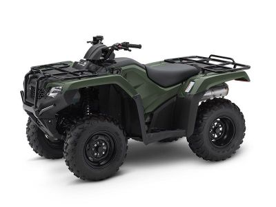 2017 Honda FourTrax Rancher 4x4 Utility ATVs North Reading, MA