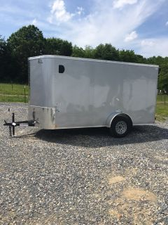 2019 Cargo Craft 6X14 ELITE ENCLOSED TRAILER Cargo Trailers Rome, GA