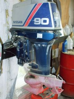 1993 Nissan 90 JET-PARTS ONLY MOTOR Outboards West Plains, MO