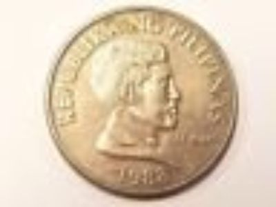 1988 Philippines Republika Ng Pilipinas Coin Foreign Money Circulated Currency
