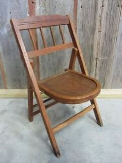 Vintage Child (?) Folding Chair - Very rare!