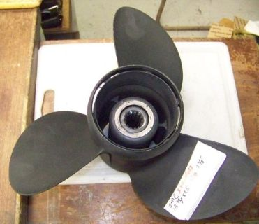 Buy Johnson / Evinrude 3 blade stainless propeller 13 3/4 x 15 3 & 4 CYL. motorcycle in Scottsville, Kentucky, United States, for US $129.99